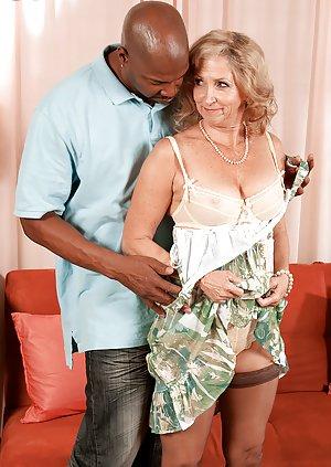 Mature Interracial Porn