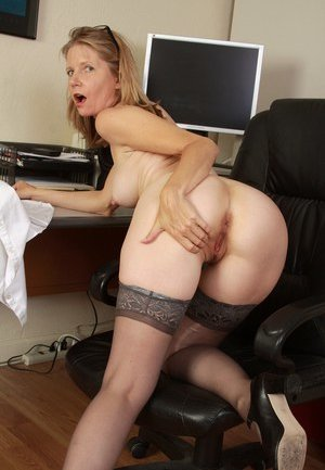 Office Mature Porn