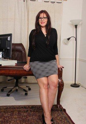 Office Mature Porn